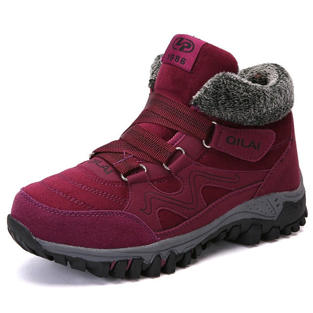 habazoo - Women Winter Ankle Boots Outdoor Warm Snow Boots Women Shoe - Habazoo -