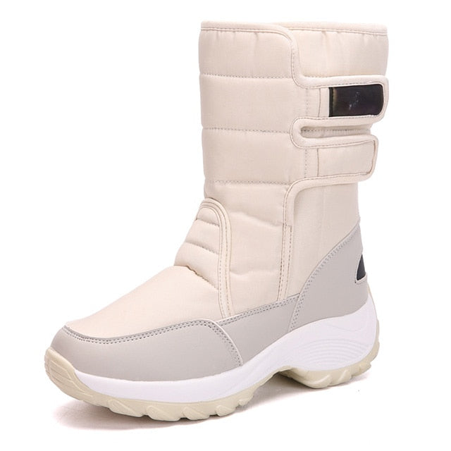habazoo - Women Boots Fur Snow Boots Women Ankle Boots Brand Keep Warm  Boots Fashion Winter Shoes Women Shoes - Habazoo -