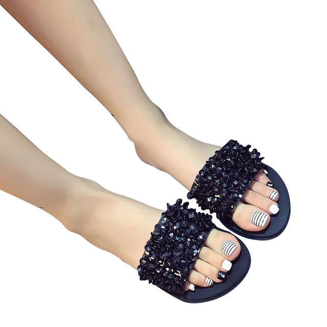 habazoo - MCCKLE Women Flat Sandals Gladiator Open Toe Buckle Soft Jelly Sandals Female Casual Summer Flat Platform For Girl Beach Shoes  (17) - Habazoo -