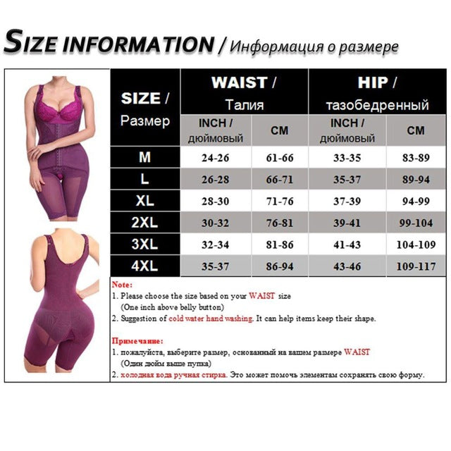 habazoo - Seamless Full Body Shaper Compression M-4XL Dress Shapewear Hot Postpartum Butt Lifter & Waist Trainer Corset Lingerie for Women - Habazoo -