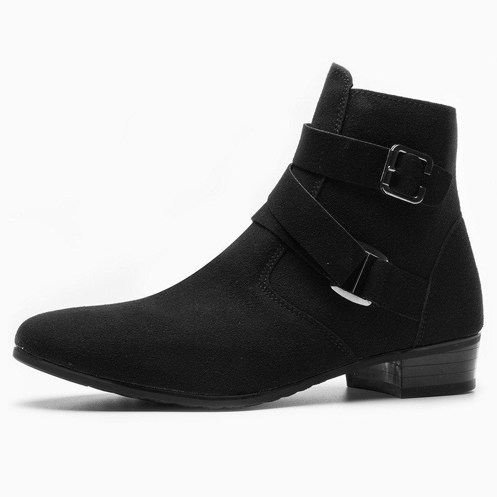 habazoo - Ankle Boots Pointed Toe  Leather - Habazoo -
