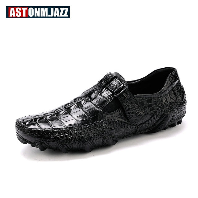 habazoo - Crocodile Slip Octopus Driving Shoe - Habazoo -