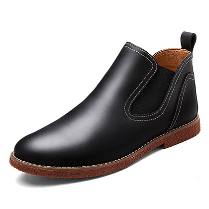 habazoo - Leather Chelsea Leather Ankle Boots  Casual Boots - Habazoo -