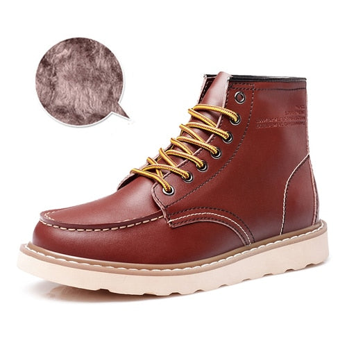 habazoo - Genuine Leather  Leather Boots - Habazoo -