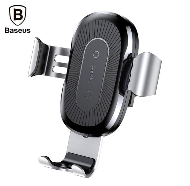 habazoo - Car Mount Qi Wireless Charger For iPhone X 8 Plus Quick Charge Fast Wireless Charging Pad Car Holder Stand For Samsung S8 - Habazoo -