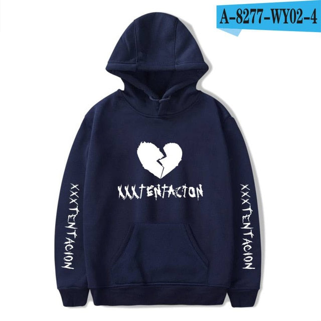 habazoo - Fashion Hoodies Men/Women Casual Hip Hop XXXTentacion Sweatshirt Vibes Forever Tracksuit Fleece Pullover - Habazoo -
