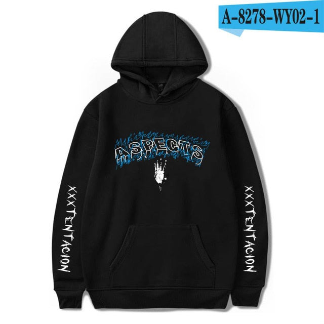 Fashion Hoodies Men/Women Casual Hip Hop XXXTentacion Sweatshirt Vibes Forever Tracksuit Fleece Pullover - Habazoo
