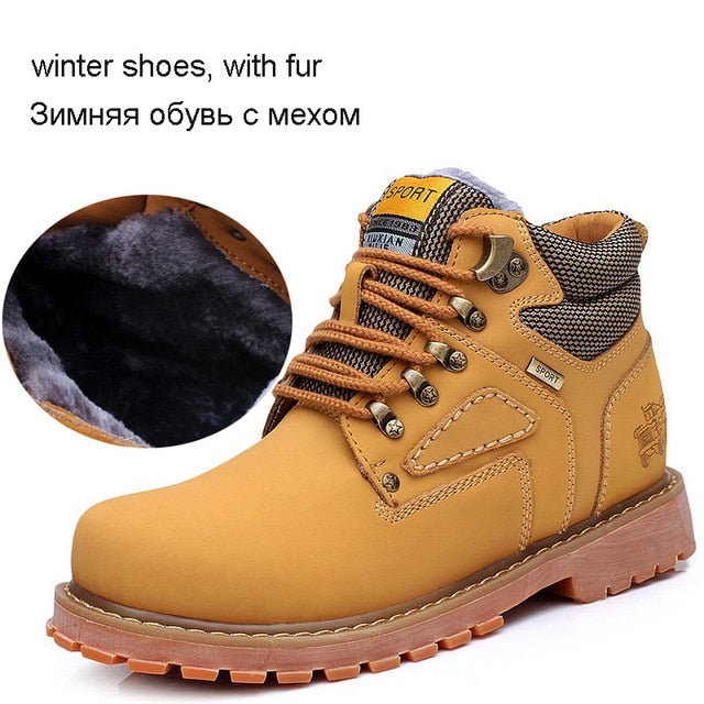 habazoo - Reetene  High Quality Genuine Leather Work & Safety Boots - Habazoo -
