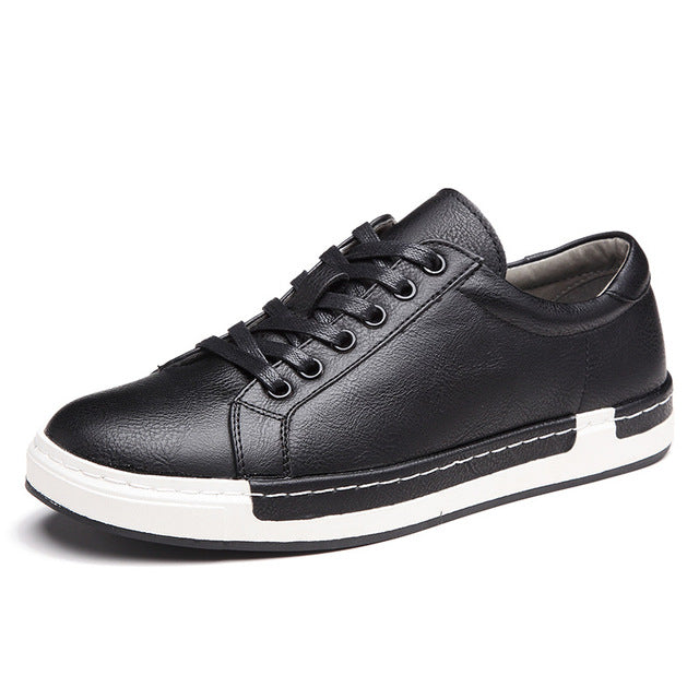 habazoo - fashion men sneakers solid light cool classic adult flat - Habazoo -