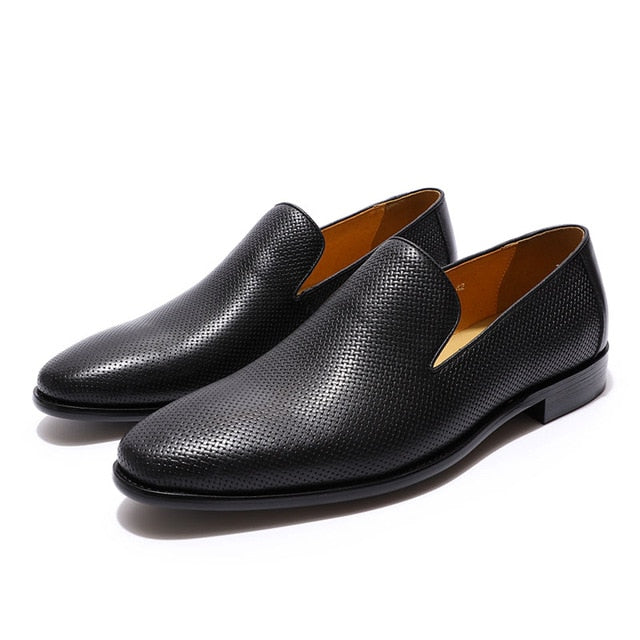 FELIX CHU Mens Loafers Leather Casual Shoe - Habazoo