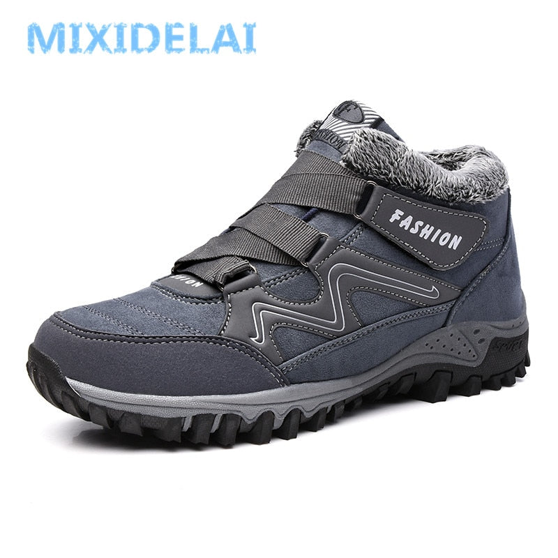 habazoo - Casual Men  Boots Work Shoes Men Footwear Fashion Ankle Boots - Habazoo -