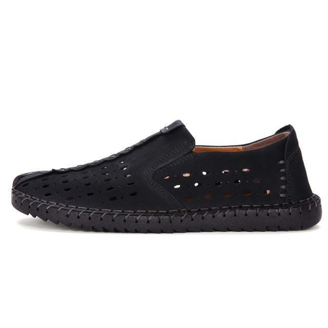 habazoo - Casual Boat Shoes Loafers Men Shoes Quality Split  Men Flats  Moccasins Shoes - Habazoo -
