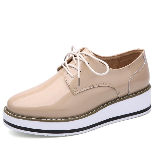habazoo - WINDFALL Flat Oxford Shoes - Habazoo -