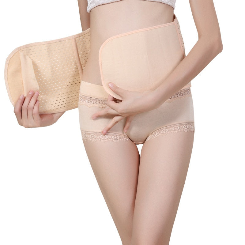 Postpartum Body Shapers Women Trainer Corset Abdomen Belt Non-slip Puerperal Seamless Women Shape Wear - Habazoo