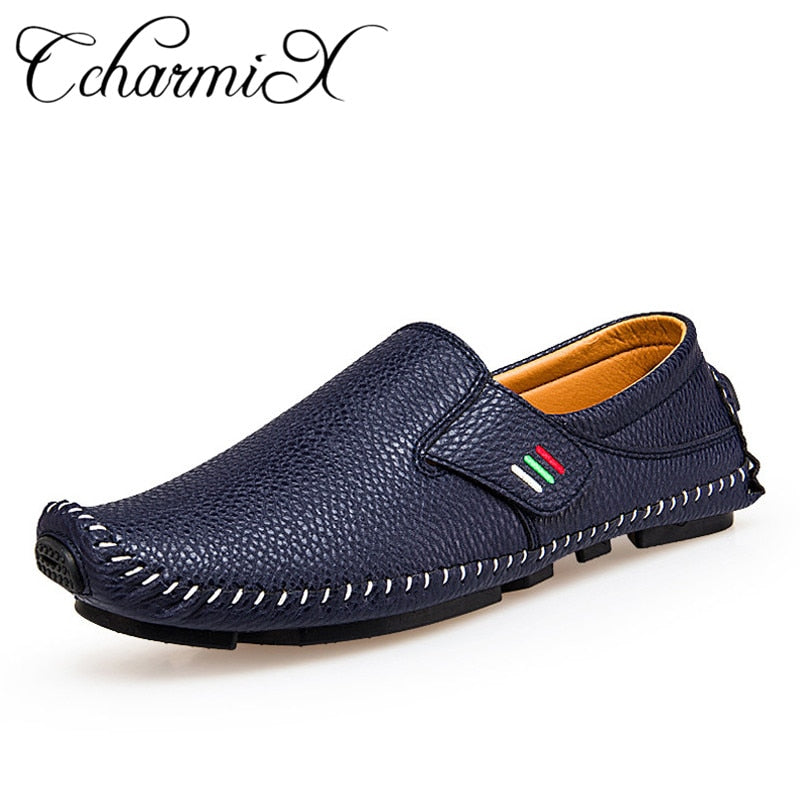 habazoo - Men Loafers Men Luxury Driving Shoes Slip On Casual Men Loafer - Habazoo -
