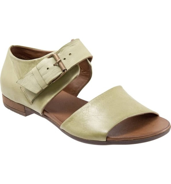 habazoo - Leather Summer Women Casual Sandals - Habazoo -