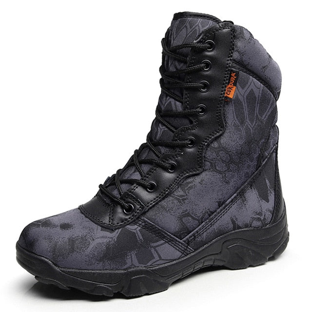 habazoo - Military Combat Tactical  Black Python Combat  Army Hiking Tactical - Habazoo -