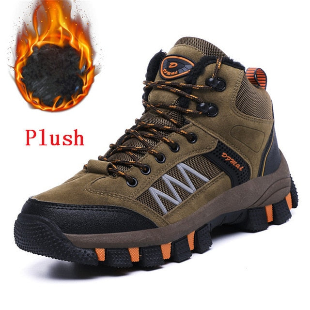 habazoo - Warm Plush Snow  Casual Fashion  Outdoor  Sneakers Size 39-45 - Habazoo -