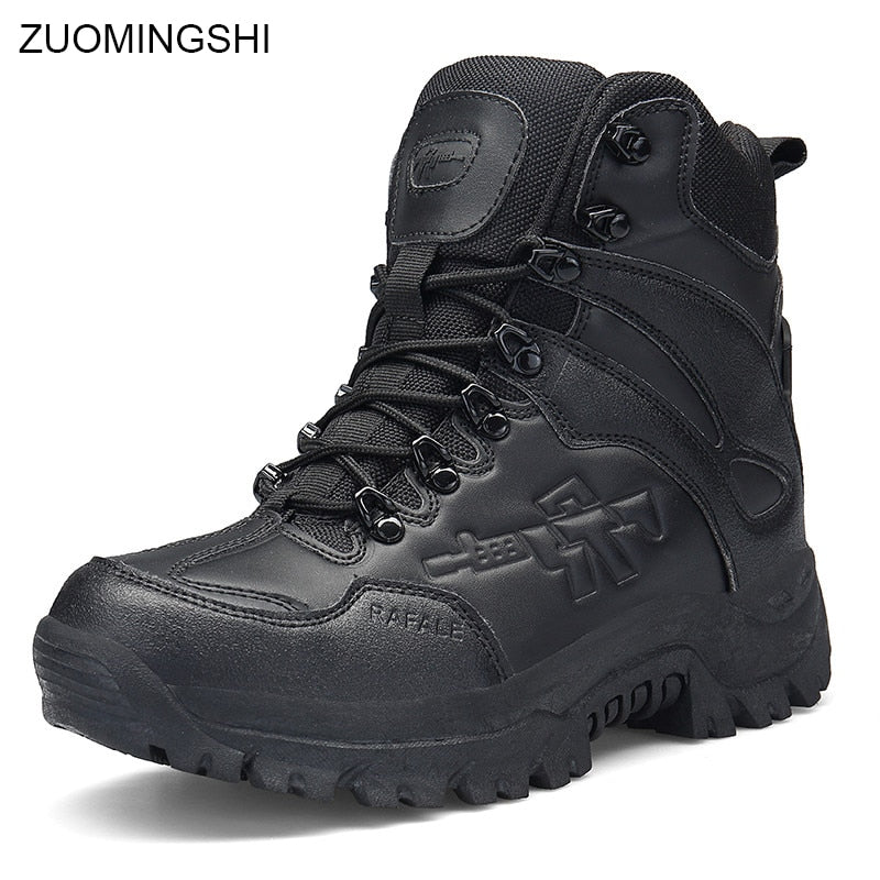habazoo - Military  Combat  Ankle Tactical  Safety Boots - Habazoo -