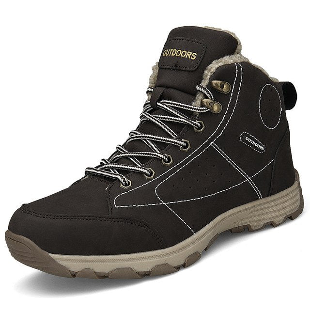 habazoo - Warm Velvet Cotton Outdoor  Mens Boots Size 39-46 - Habazoo -
