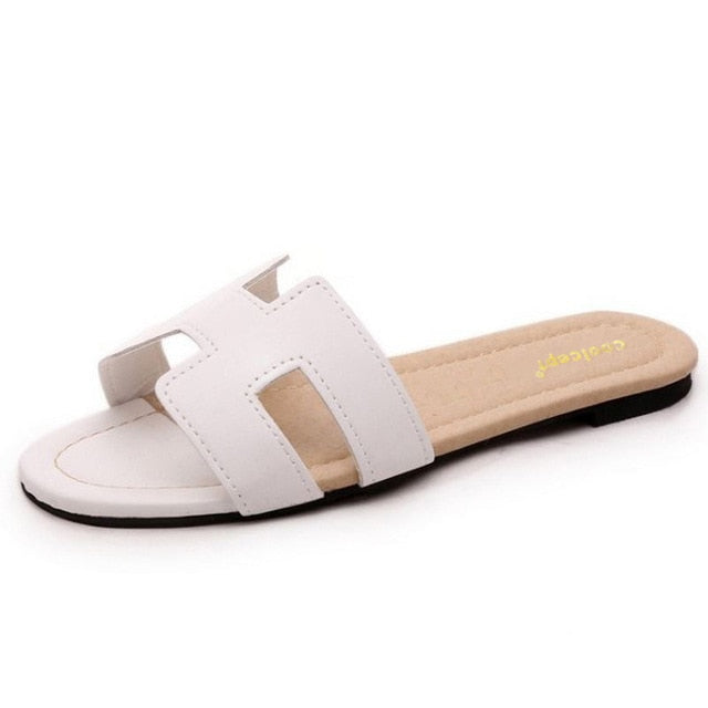 habazoo - Flats Sandals Fashion Summer Slippers - Habazoo -