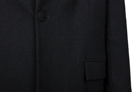 Black Wool Jacket (S) - Ludus Agender Label