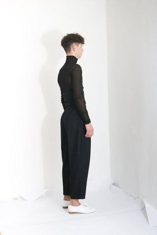 Corseted Wool Trousers (M)