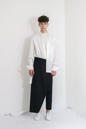 Asymmetric Cotton Shirt
