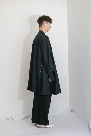 Oversized Cape Shirt