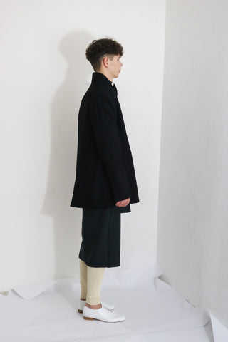 Black Wool Jacket (M)