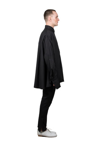 Black Medusae Long-sleeved Shirt - Ludus Agender Label