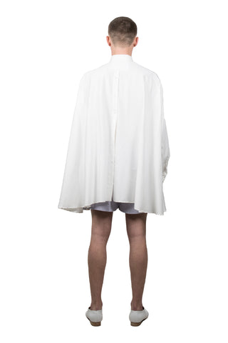 White Medusae Long-sleeved Shirt - Ludus Agender Label