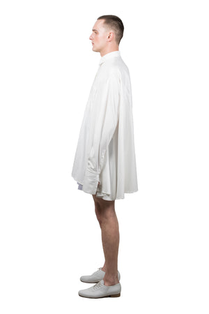 White Medusae Long-sleeved Shirt