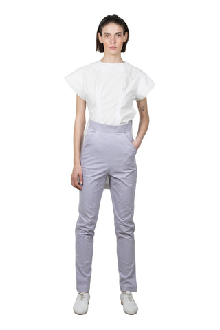 Lavender Cotton Trousers