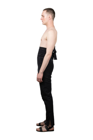 Black Kinbaku Trousers - Ludus Agender Label