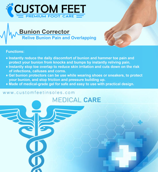 Bunion Corrector – Bunion Pain And Overlapping Toes