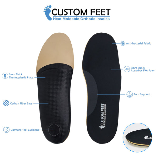 Max Black - Custom Feet Insoles