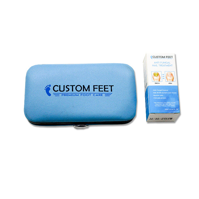 Antifungal Nail Treatment - Nail kit maintenance tools - Custom Feet Insoles