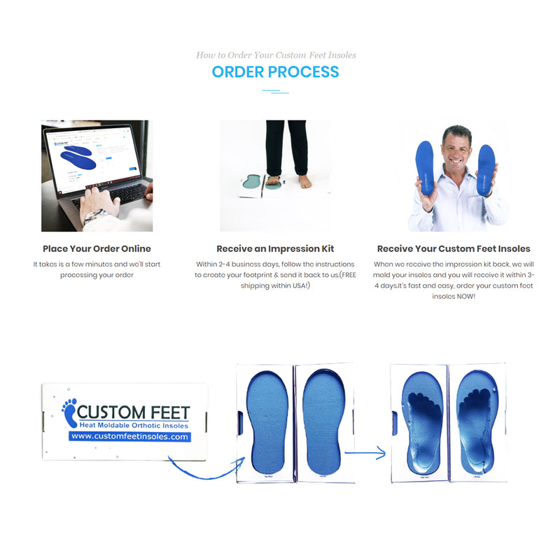 Leather Premium - Custom Feet Insoles