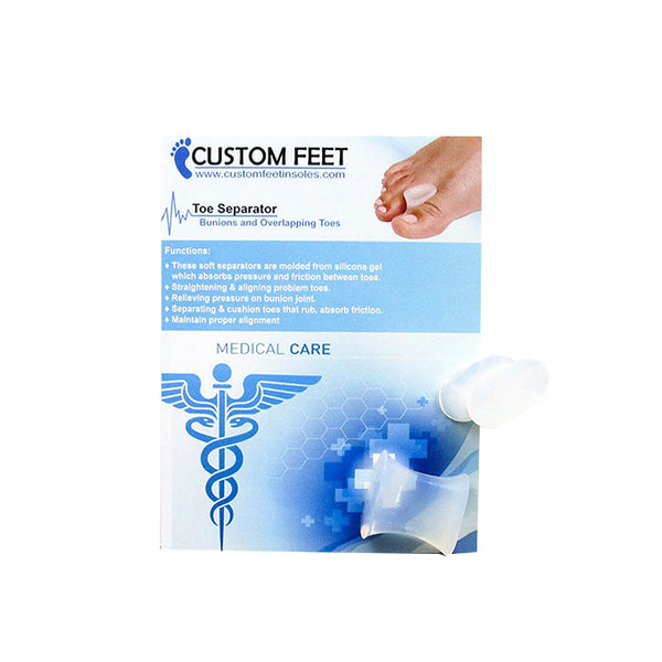 Toe Separator - Bunions and Overlapping Toes - Custom Feet Insoles