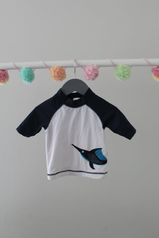 Gymboree Rash Guard 6-12M