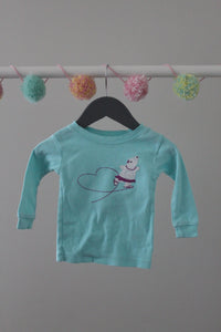 Baby Gap PJ Top 6-12M