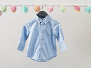 Old Navy Jean Shirt 12-18M