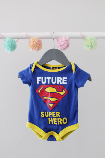 Superman Bodysuit 0-3M