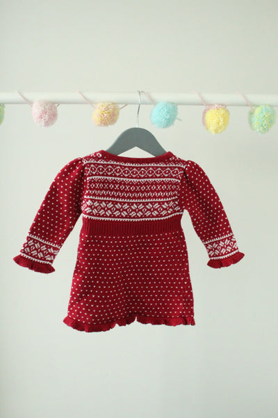 The Eagle's Eye Sweater Dress 0-3m