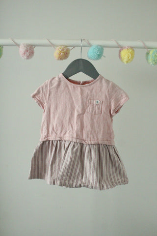 Zara Baby Girl Dress 9-12M