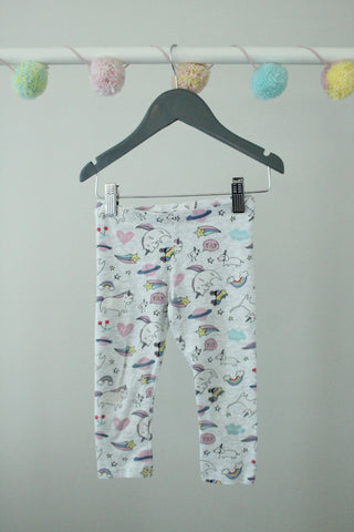 H&M Leggings 1.5-2Y