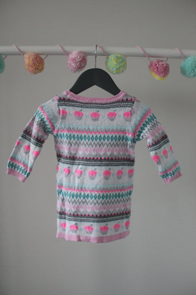 Gymboree Sweater Dress 6-12M