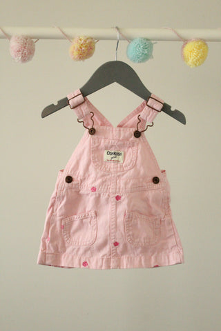 OshKosh Coverall Dress 6M