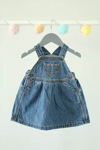 Baby Gap Coverall Dress 6-12M